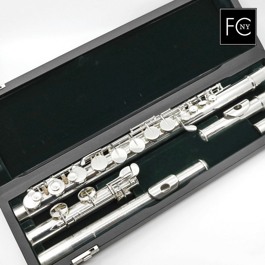 Pearl Alto Flute Model PFA206ESU - Curved and Straight Headjoints w/ Split E Mechanism (New)