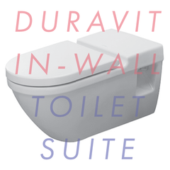 Duravit Starck 3 Wall-Hung 700mm In-Wall Toilet Suite