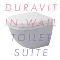 Duravit Starck 3 Compact Wall Hung In-Wall Toilet Suite