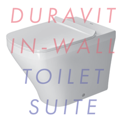 Duravit Durastyle Floor Mounted In-Wall Toilet Suite