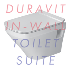 Duravit Durastyle Compact Wall-Hung In-Wall Toilet Suite