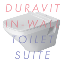 Duravit Durastyle 540mm Wall Hung In-Wall Toilet Suite