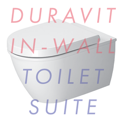 Duravit Darling New Wall-Hung In-Wall Toilet Suite