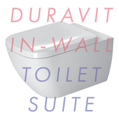 Duravit Happy D.2 Wall Hung 540mm In-Wall Toilet Suite