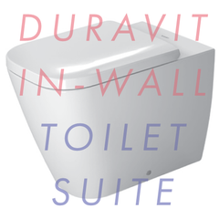 Duravit Happy D.2 Floor-Mounted In-Wall Toilet Suite