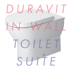 Duravit Darling New Back-to-Wall In-Wall Toilet Suite