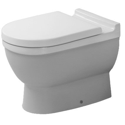 Forskellige Duravit Starck 3 Back-to-wall Pan - Back-to-Wall Pan | Toilet Pan HK45