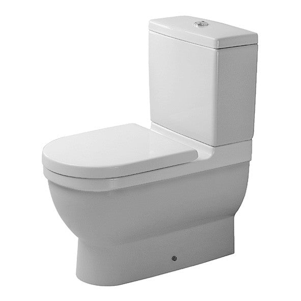 Storslåede Duravit Starck 3 Toilet Suite Back To Wall - Suite Back To Wall RD19