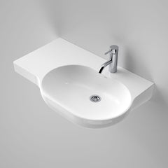 Caroma Opal 720 Wall Basin LH Shelf 1TH