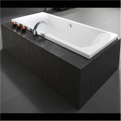 Athena Liquid 1675mm 2 Sided Moulded Bath