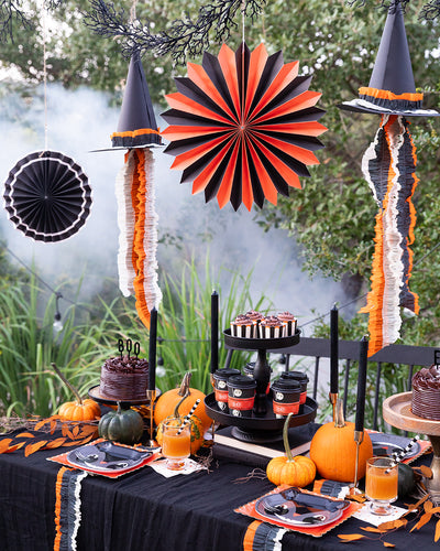 Host a hauntingly fun outdoor dinner party!