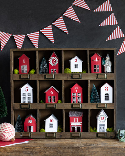Christmas Countdown Village with My Colors Cardstock!