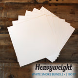 My Colors Heavyweight White Smoke 18 Sheet Pack