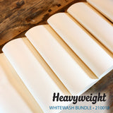 My Colors Heavyweight Whitewash 18 Sheet Pack
