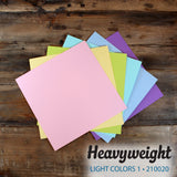 My Colors Heavyweight Light Colors 1 18 Sheet Variety Pack
