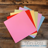 My Colors Mini Dots Light Colors 18 Sheet  Pack