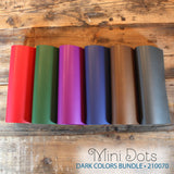 My Colors Mini Dots Dark Colors 18 Sheet Pack