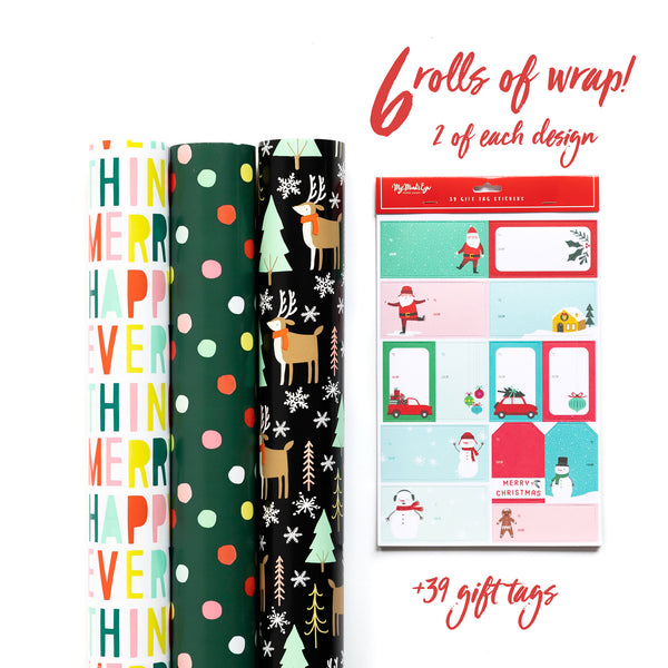 Happy and Bright Wrap Collection
