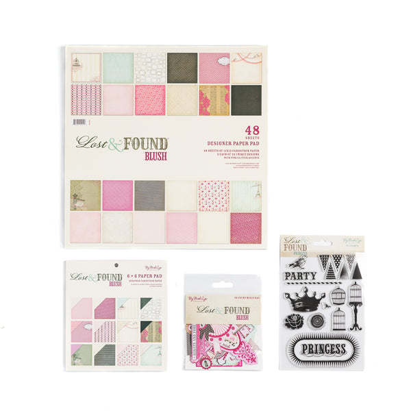 Lost & Found Blush Collection Kit