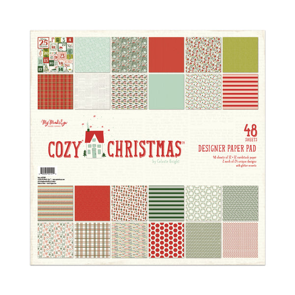 Cozy Christmas 12x12 Pad