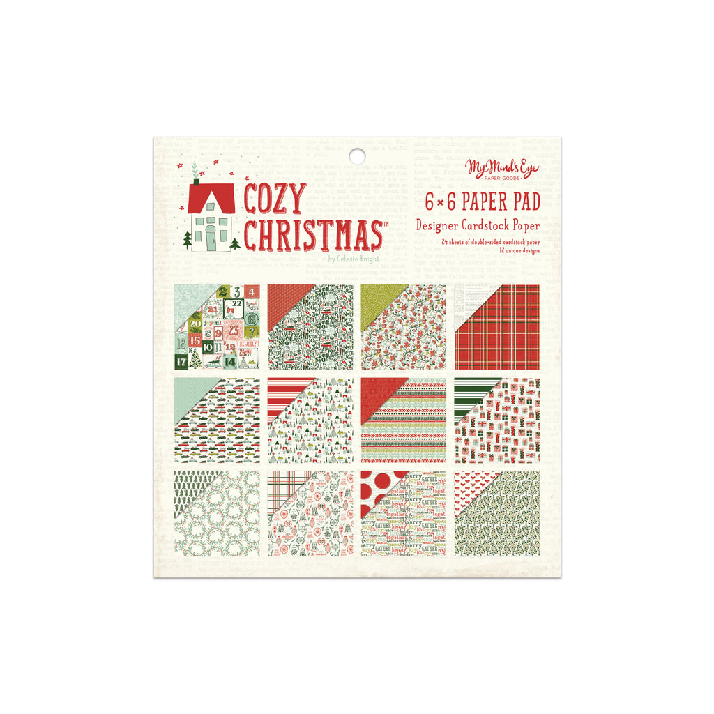 Cozy Christmas 6x6 Pad