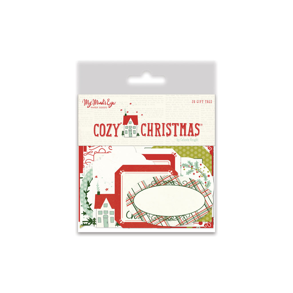 Cozy Christmas Decorative Tags