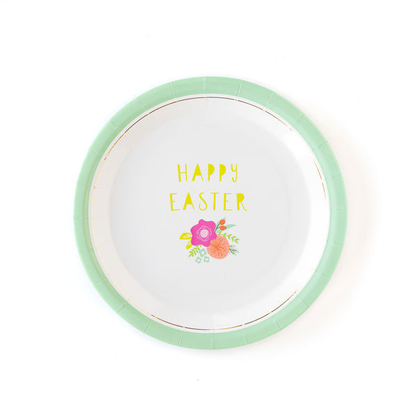 "Happy Easter 9"" Plates"