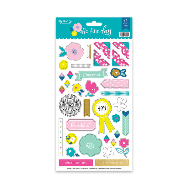 One Fine Day Sticker Sheet