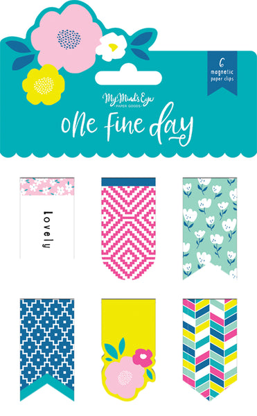 One Fine Day Magnetic Clips