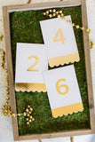 Fancy Table Numbers - FYP110