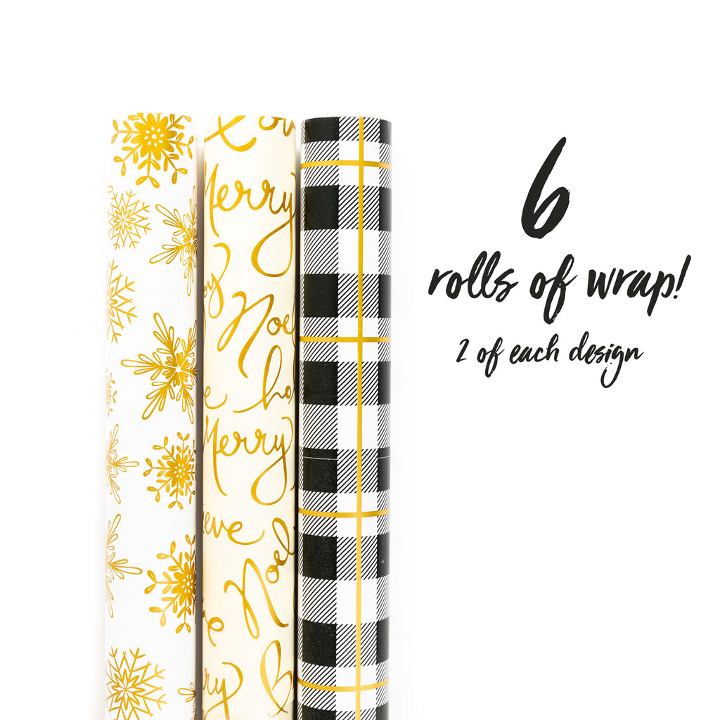 Golden Winter Wrap Collection