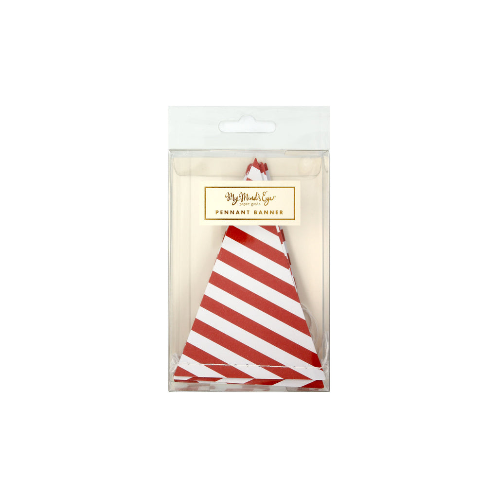 Holiday Pennant Banner Packaging