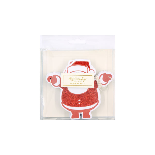 Holiday Santa Banner Packaging