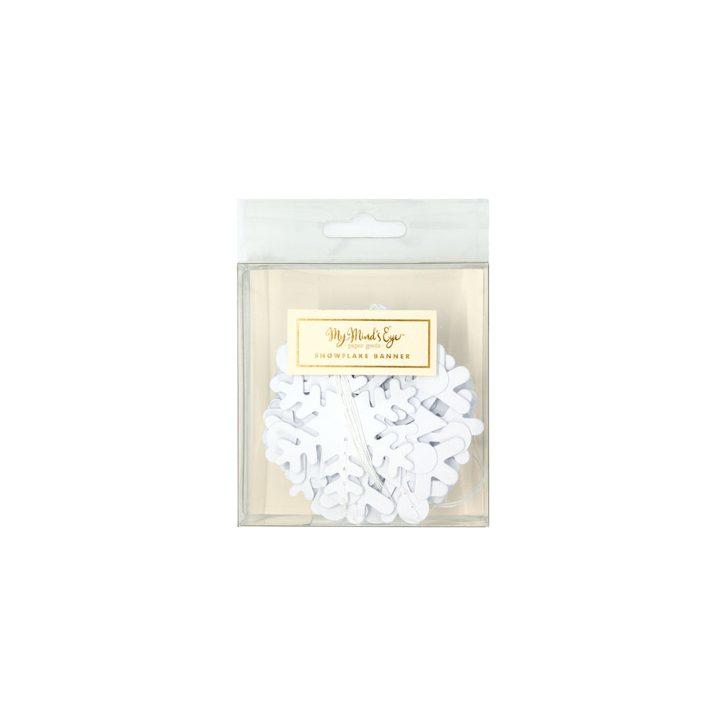 Holiday Snowflake Banner Packaging