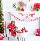Holiday Merry & Bright Christmas Banner
