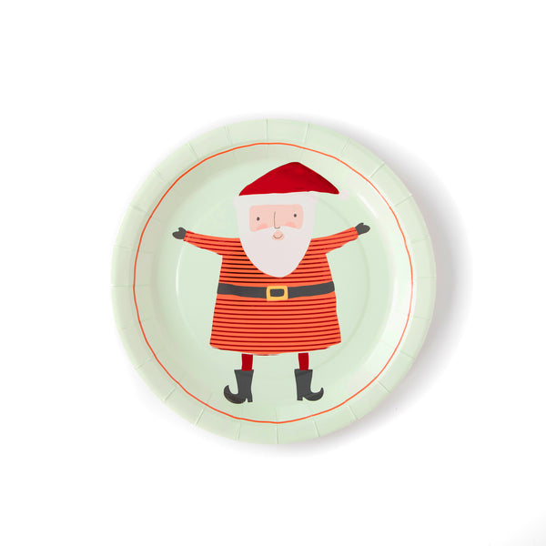 Holiday Santa Plate Packaging