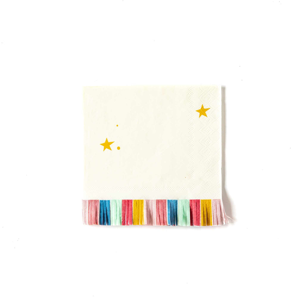 Magical Cocktail Fringed Napkins