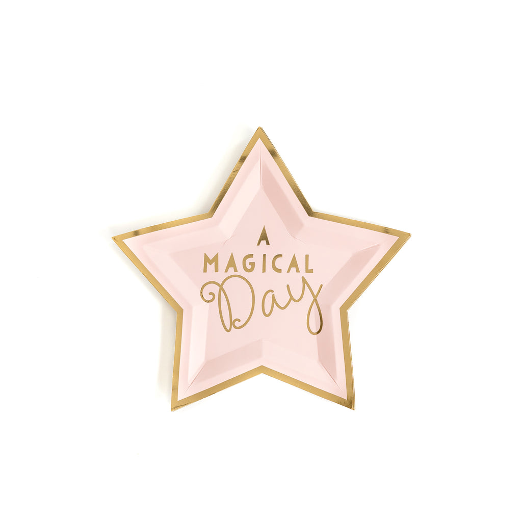 "Magical Star 7"" Plates"