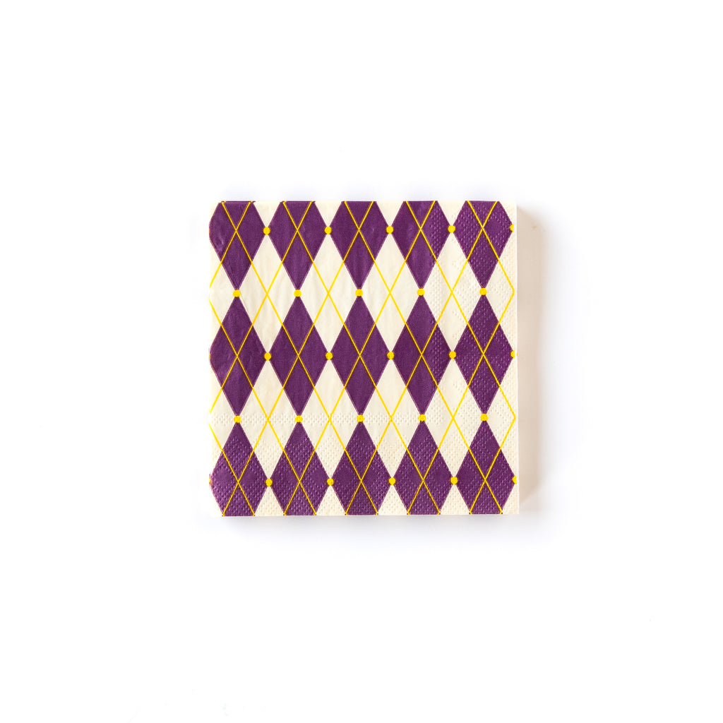 Mardi Gras Napkin Packaging