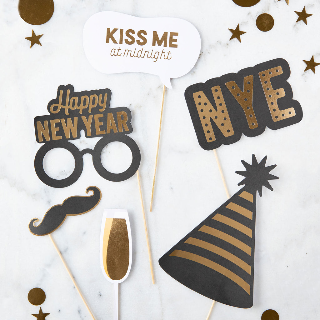 New Year's Eve Photo Props