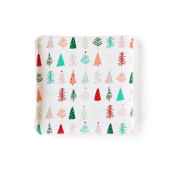"Oui Party Christmas 7"" Frosting Tree Plate"