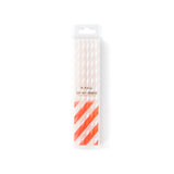 Basic Color Changing Straws - Red