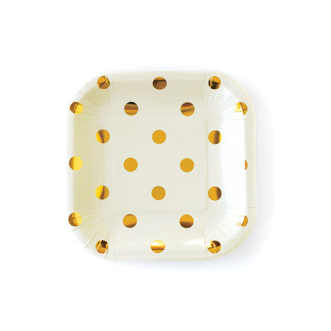Cream Polka Dot 7