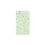 Mint Polka Dot Dinner Napkin