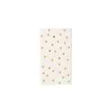 Cream Polka Dot Dinner Napkin