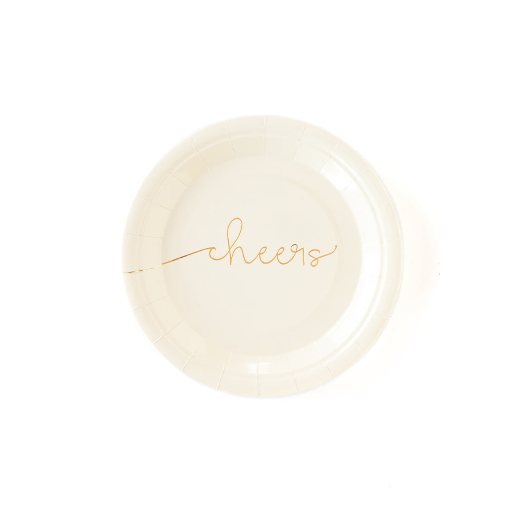 "Cheers 7"" Plates"