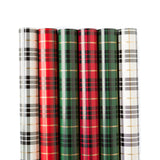Plaid Christmas Wrap Collection