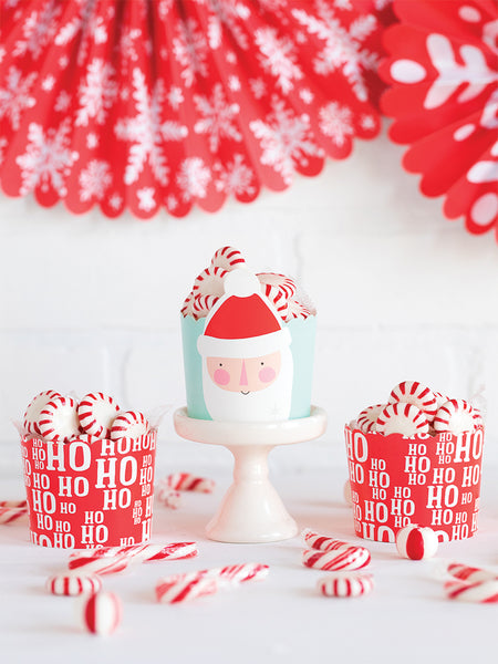Ho Ho Ho Baking Cups