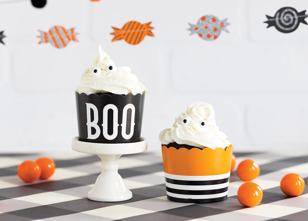 Boo Baking Cups