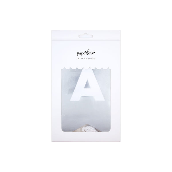 Paper Love Letter Banner: Chrome